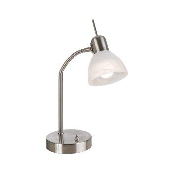 Nino Leuchten DAYTONA Tischleuchte LED Nickel-Matt, 1-flammig
