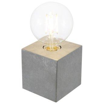 Nino Leuchten LEONIE Tischleuchte Grau, 1-flammig