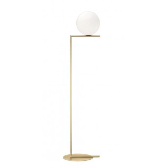 FLOS IC Light Stehleuchte Messing, 1-flammig