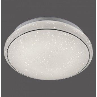 Leuchten Direkt JUPITER Deckenleuchte LED Weiß, 1-flammig