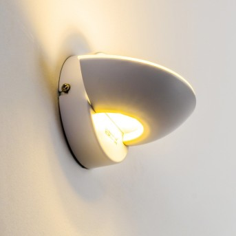 Dominical Wandleuchte LED Weiß, 2-flammig