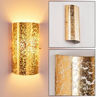 Modica Wandleuchte Gold, 1-flammig