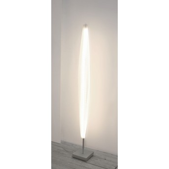 Escale Stratos Stehleuchte LED Nickel-Matt, 1-flammig