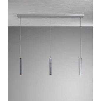 Bopp PLUS Pendelleuchte LED Aluminium, 3-flammig