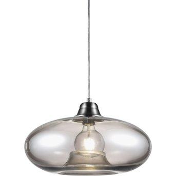 Nino Leuchten LILLE Pendelleuchte Grau, 1-flammig