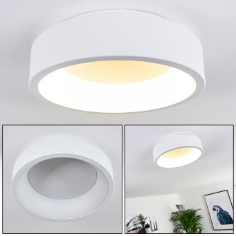 Kampala Deckenleuchte LED Weiß, 1-flammig