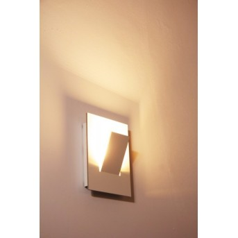 Eva Luz Alpha Wandleuchte LED Weiß, 1-flammig