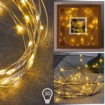 Sondrio Lichterkette LED, 50-flammig