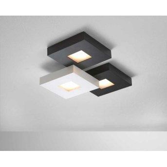 Bopp CUBUS Deckenleuchte LED Schwarz, Weiß, 3-flammig