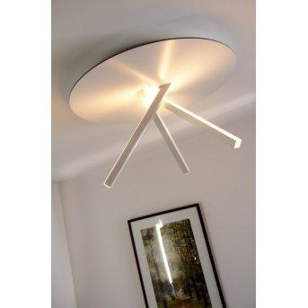 Evaluz Orion Deckenleuchte LED Weiß, 3-flammig