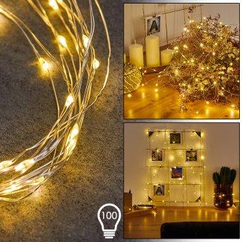 Sondrio Lichterkette LED, 100-flammig