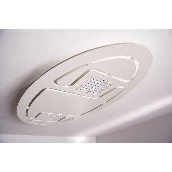 Evaluz Ellipse Deckenleuchte LED Weiß, 2-flammig
