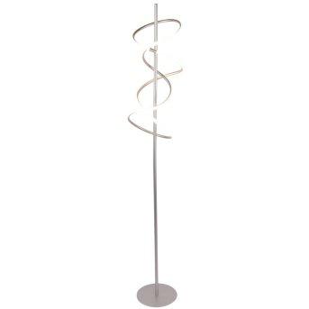 Nino Leuchten VOLUTA Stehleuchte LED Silber, 1-flammig